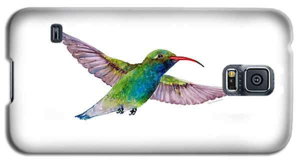 Broad Billed Hummingbird Galaxy S5 Case by Amy Kirkpatrick