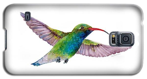 Broad Billed Hummingbird Galaxy S5 Case