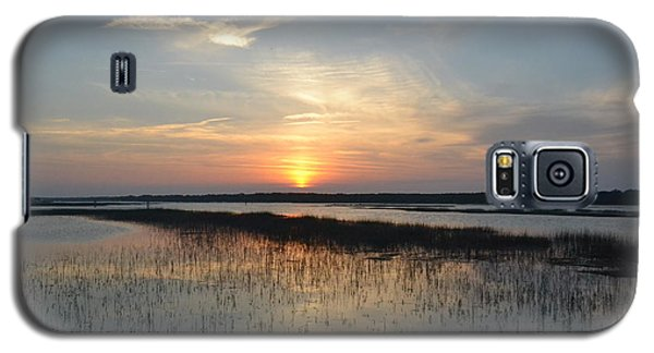 Galaxy S5 Case featuring the photograph Broad Creek Sunset II by Carol  Bradley