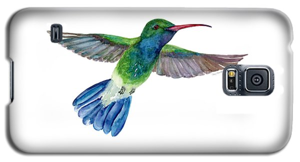 Broadbilled Fan Tail Hummingbird Galaxy S5 Case