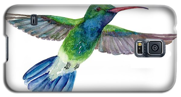 Broadbilled Fan Tail Hummingbird Galaxy S5 Case