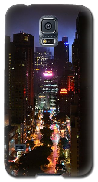 Broadway And 72nd Street At Night Galaxy S5 Case