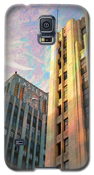 Galaxy S5 Case featuring the photograph Broadway And Ninth Dwontown Corner by John Fish