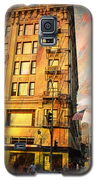 Galaxy S5 Case featuring the photograph Broadway And Ninth Facing West by John Fish