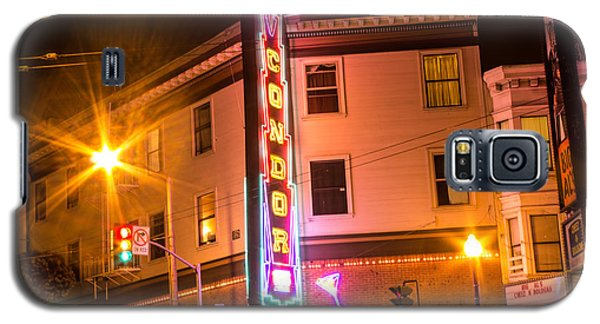 Broadway At Night Galaxy S5 Case by Suzanne Luft