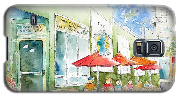 Broadway Roastery Galaxy S5 Case by Pat Katz