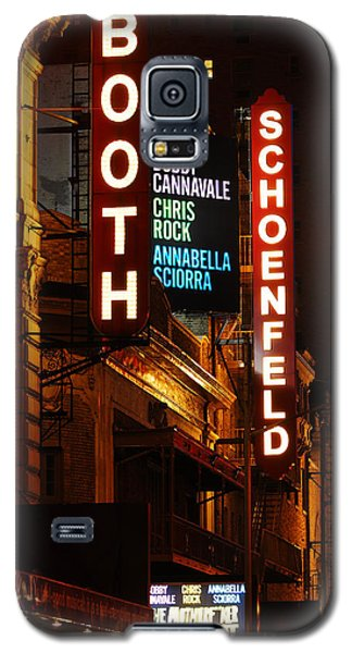 Galaxy S5 Case featuring the photograph Broadway Theaters by James Kirkikis