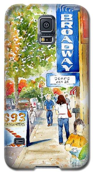 Broadway Theatre - Saskatoon Galaxy S5 Case by Pat Katz
