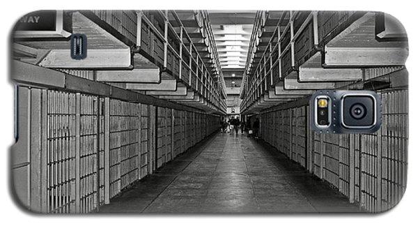Broadway Walkway In Alcatraz Prison Galaxy S5 Case