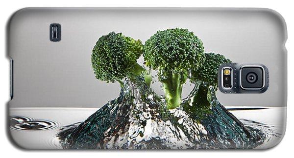 Broccoli Freshsplash Galaxy S5 Case by Steve Gadomski
