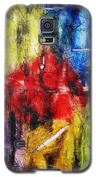 Galaxy S5 Case featuring the painting Broken 4 by Michael Cross