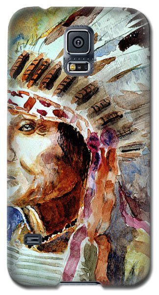 Galaxy S5 Case featuring the painting Broken Arm by Steven Ponsford