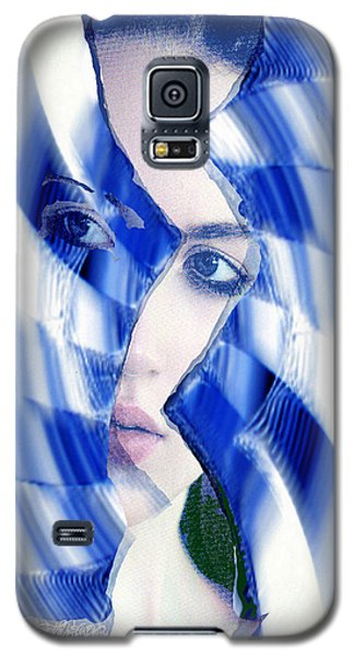 Broken Mirror Broken Dreams Galaxy S5 Case by Seth Weaver