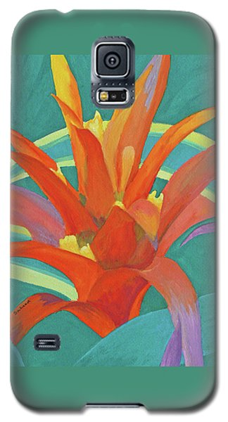 Bromeliad Glow Galaxy S5 Case by Margaret Saheed