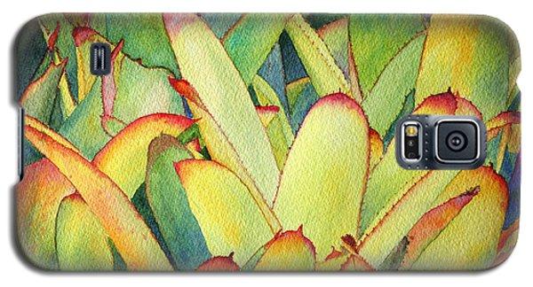 Bromeliads I Galaxy S5 Case by Roger Rockefeller