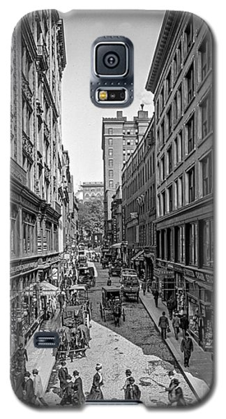 Bromfield Street Boston Galaxy S5 Case