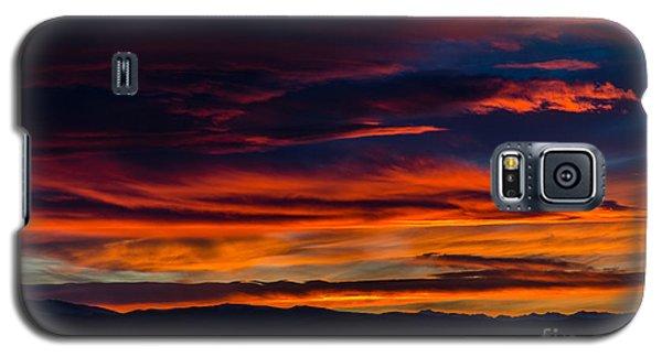 Bronco Sunset Galaxy S5 Case