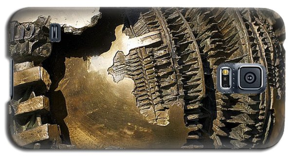 Bronze Abstract Galaxy S5 Case