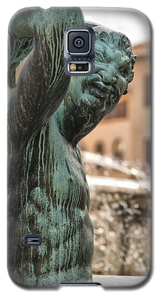 Bronze Satyr In The Statue Of Neptune Galaxy S5 Case