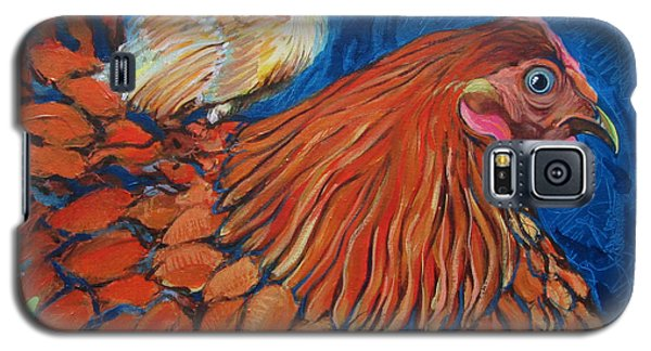 Broody Beverly And Peachick Galaxy S5 Case
