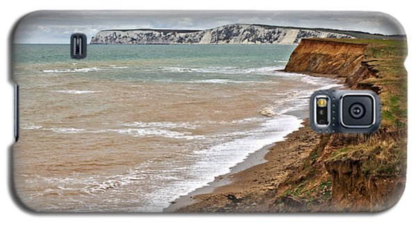 Brook Bay And Chalk Cliffs Galaxy S5 Case