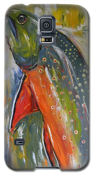 Brook Trout Galaxy S5 Case by Cher Devereaux