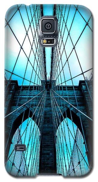 Brooklyn Blues Galaxy S5 Case by Az Jackson