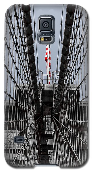 Brooklyn Bridge American Flag Galaxy S5 Case