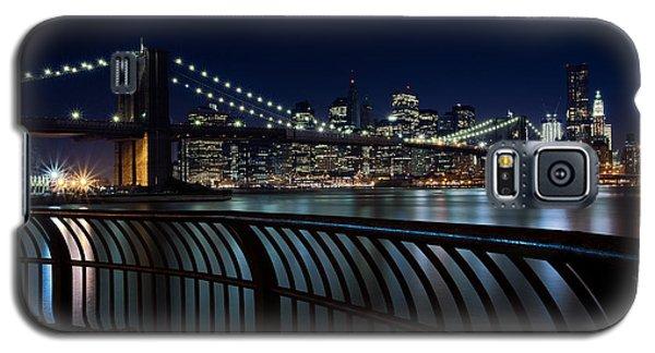 Brooklyn Bridge At Night Galaxy S5 Case