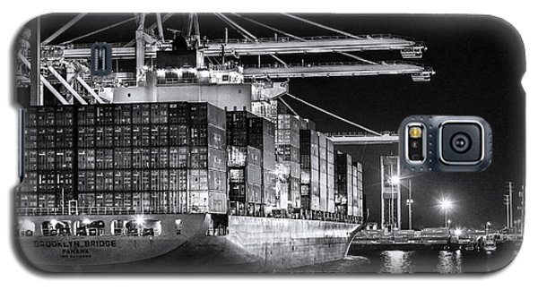 Brooklyn Bridgebw By Denise Dube Galaxy S5 Case