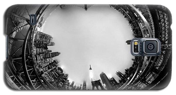 Brooklyn Bridge Circagraph 4 Galaxy S5 Case by Az Jackson