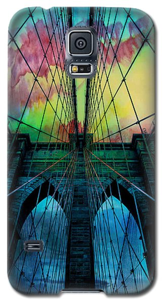 Psychedelic Skies Galaxy S5 Case by Az Jackson