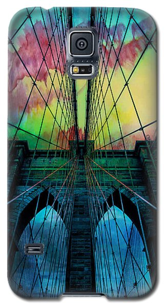 Psychedelic Skies Galaxy S5 Case