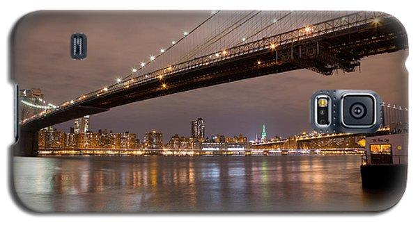 Brooklyn Bridge Lights Galaxy S5 Case