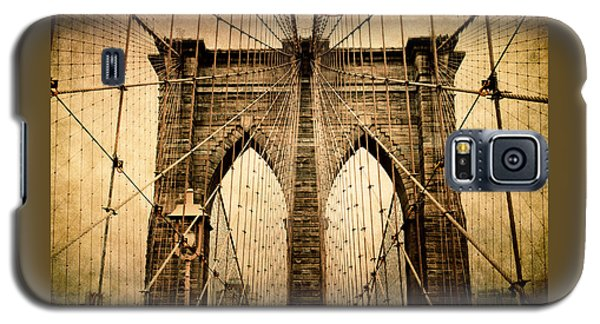 Brooklyn Bridge Nostalgia Galaxy S5 Case by Jessica Jenney