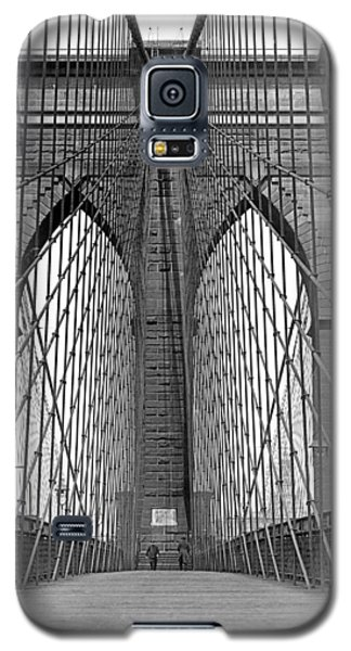 Brooklyn Bridge Promenade Galaxy S5 Case
