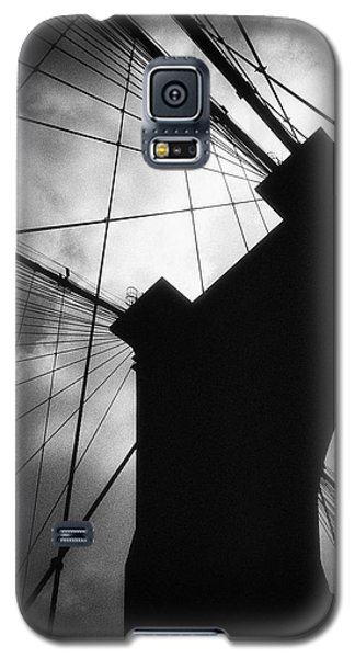Brooklyn Bridge Silhouette Galaxy S5 Case