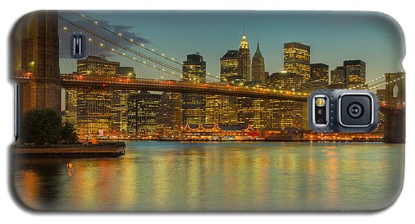 Brooklyn Bridge Twilight Galaxy S5 Case