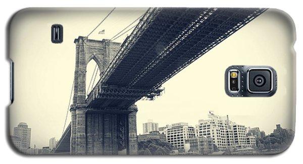 Brooklyn Bridge1 Galaxy S5 Case by Paul Cammarata