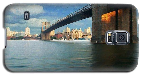 Galaxy S5 Case featuring the digital art Brooklyn by David Klaboe