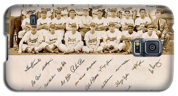 Brooklyn Dodgers Baseball Team Galaxy S5 Case by Bellesouth Studio