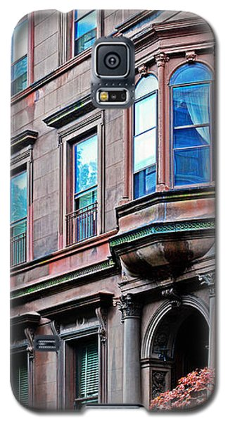 Brooklyn Heights - Nyc - Classic Building And Bike Galaxy S5 Case