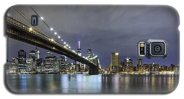 Galaxy S5 Case featuring the photograph Brooklyn Nights by Anthony Fields