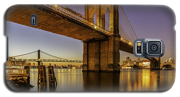 Galaxy S5 Case featuring the photograph Brooklyn Sunrise by Anthony Fields