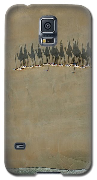 Broome Camel Train Galaxy S5 Case