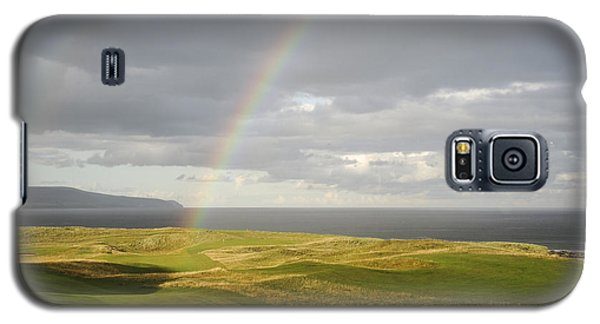 Brora Golf Course Rainbow Galaxy S5 Case