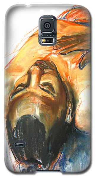 Galaxy S5 Case featuring the drawing Brown Sugar by Gabrielle Wilson-Sealy