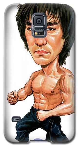 Bruce Lee Galaxy S5 Case by Art
