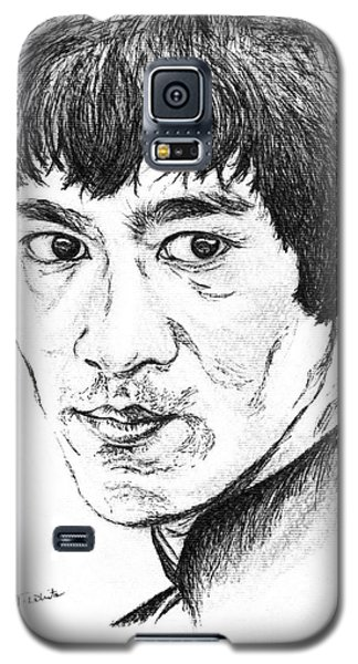 Bruce Lee Galaxy S5 Case by Teresa White