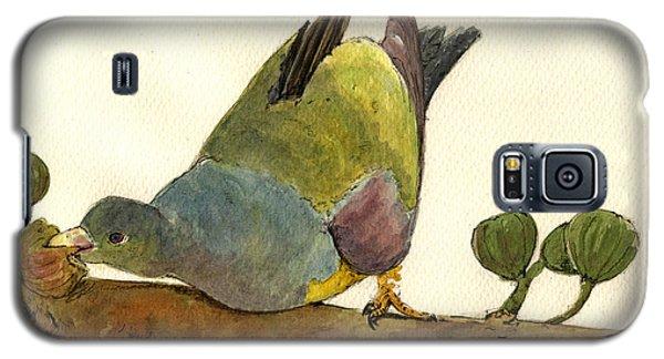 Bruce S Green Pigeon Galaxy S5 Case by Juan  Bosco